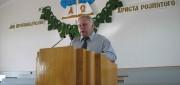 На богослужении в деревне Гряды
