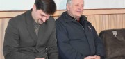 Сергей Бриштель и пресвитер Иван Иванович Мещанчук